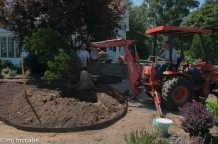 Tom, Dave and Grant — Garden Installation team who have worked together for many years taking great pride in all they do